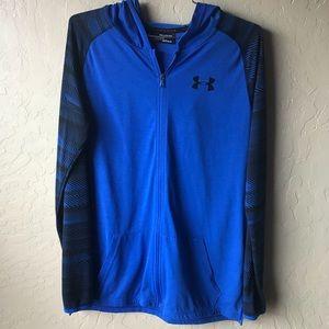 BOYS UA Under Armour Long Sleeve T shirt hoodie